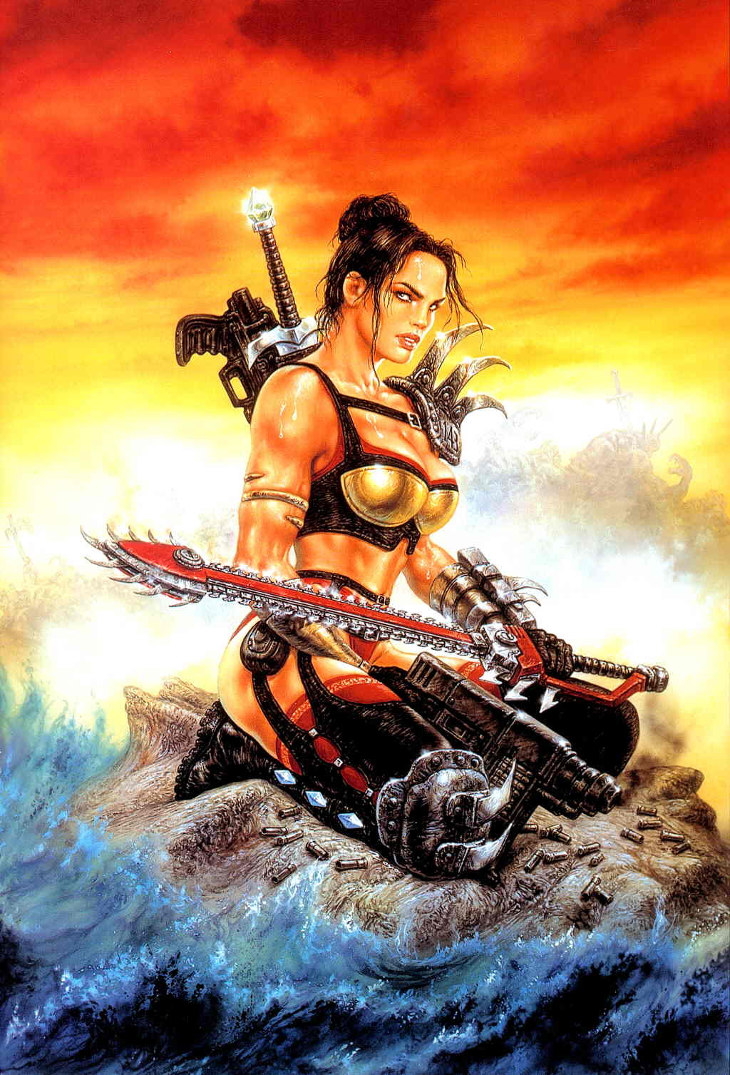 Remarkable, this luis royo heavy metal